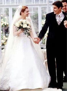 Movie Brides- Alyson Hannigan: American Wedding