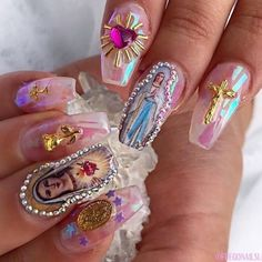 types of nail shapes Hairstyles - The most beautiful nail designs Acrylic Nail Shapes, Best Acrylic Nails, Sparkly Acrylic Nails, Pink Nail, Nail Nail, Acrylic Art, Gorgeous Nails, Pretty Nails, Amazing Nails