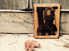Motorcylce Racer Picture Home Decor Wall Decor Vintage Wooden Picture Café Racer