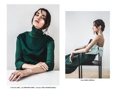 Photography Marcello Arena Fashion Veronica Mazziotta Model Roksana @ MP Management via Nou Magazine