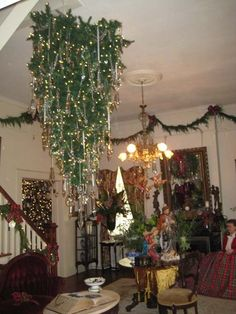 Upside Down Christmas Trees Meaning