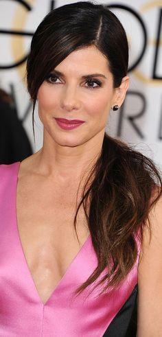 red carpet - Sandra Bullock 2014 Golden Globe Awards