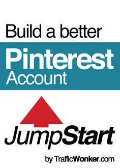 JumpStart helps you build a new Pinterest that gets incredible engagement right from the beginning. JumpStart eliminates the guesswork, endless hours, and disappointing results. Learn more about JumpStart and our incredible money-back guarantee. #trafficwonker #bloggingforbeginners #startabusiness #startablog Making A Business Plan, Starting A Business, Business Planning, Business Marketing, Social Media Marketing, Online Business, Social Media Automation, Pinterest Account, Blogging For Beginners