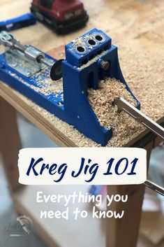 A Complete beginner-friendly guide to pocket holes and Kreg Jig. Simple and easy to follow detailed tutorials on how to use the Kreg Pocket hole Jig and make strong woodworking joints. #anikasdiylife #woodworking #pocketholes #kregjig