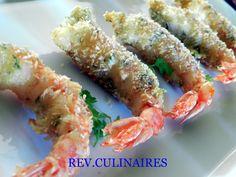 beignets de crevettes croustillantes à la noix de coco