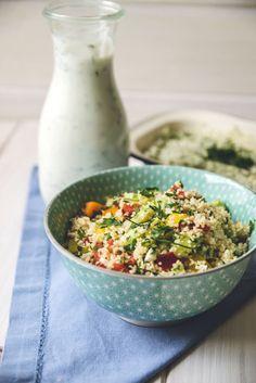 Dieser vegetarische Couscous Salat ist schnell zubereitet und schmeckt super erfrischend. Eignet sich hervorragend als Beilage zum Grillen. Super lecker!