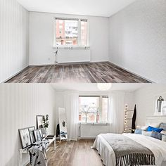 Before & after homestaging! by #desint