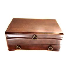 Giant Jewelry Box Vintage Wood Dresser Chest