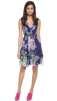 Matthew Williamson floral print dress