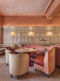 Hélène Darroze at the Connaught – Pierre Yovanovitch Famous Interior Designers, Top Designers, Pierre Yovanovitch, Mayfair, Best Interior, Decorating Tips, Lounge, Design Inspiration, Architecture