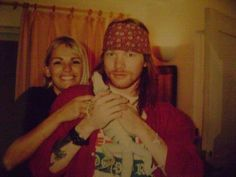 Axl with his sister, Amy.