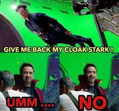 Tony Stark y Dr. Strange