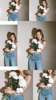 Self Portrait Photography, Portrait Photography Poses, Photography Poses Women, Photography Backdrops, Beach Photography, Photoshoot Themes, Photoshoot Makeup, Photoshoot Inspiration, Girls With Flowers