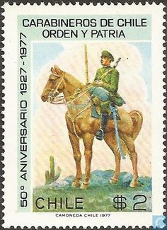 Postage Stamps - Chile [CHL] - 50 years of police