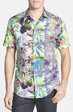 Robert Graham 'Honolulu' Classic Fit Sport Shirt available at #Nordstrom