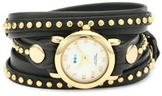 La Mer Collections Women's LMSW6003 Bali Stud Collection Grey Gold Bali Watch La Mer Collections. Save 20 Off!. $108.00. Wrap construction. Genuine leather strap. Handcrafted in the usa. Splash proof. Seiko watch movement