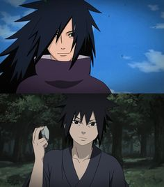 Madara Uchiha - screencaps by me.