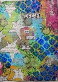 Dream and Catch a Star: #journalArt by Christy Butters #dreams #Success