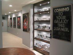Star Wars basement!!! Yes please.
