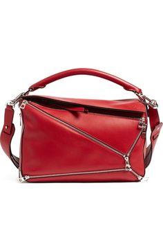 Main Image - Loewe 'Puzzle Zips' Calfskin Leather Bag