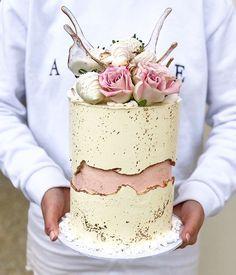 Мини Свадебные Торты, Мини Пирожные, Красивые Торты, Красивые Торты, Восхитительные Торты, Золотой Торт