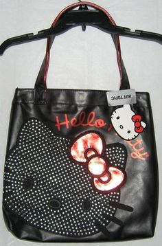 f81930bd8bc1 Hello Kitty Tote Messenger Bag HOT TOPIC LOUNGEFLY FREE SHIPPING