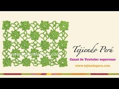 1 DE 2 COMO TEJER PUNTO HOJUELA GANCHILLO CROCHET - YouTube