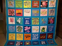 t-shirt quilt (GJ)
