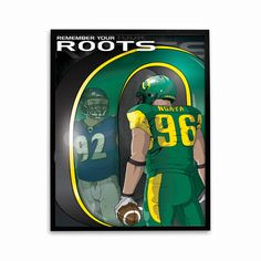 Haloti Ngata Remember Your Roots Poster -