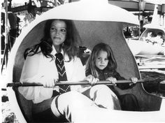 Priscilla and Lisa Presley