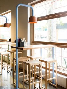 Fonda Hawthorne Restaurant by Techné Architecture + Interior Design #restaurantdesign