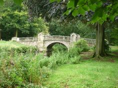 Weston Park: Stunning bridge. The park is considered by some experts to be the model for that at Blandings Castle.