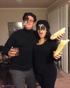 Have one of a kind couples halloween costumes