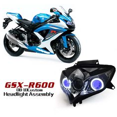 Suzuki GSX-R600 GSXR600 2008-2010  motorcycle HID and LED projector headlights.  http://www.ktmotorcycle.com/custom-headlights/suzuki-custom-headlights/suzuki-gsx-r600/suzuki-gsx-r600-2008-2010.html