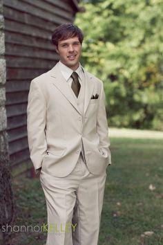 ....brown and khaki groomsmen khaki and blush groom
