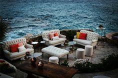 Perfect location in paradise. #boutiquefurniture #beach #eventdesignbymariannaidirin  Cabo San Lucas in Baja California Sur