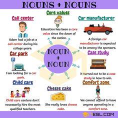 noun and noun collocations