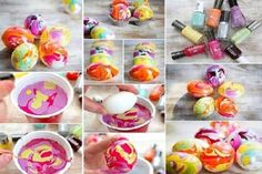 """Easter Egg Decorations You'll """"Dye"""" For - Just Pink About It - Dying Easter eggs is a long standing family Easter tradition. Find some fun and unique ways to decorate your Easter eggs this Easter. Fun and easy Easter egg decorating ideas you'll """"dye"""" for. Easter Crafts To Make, Diy Projects Easter, Easter Egg Crafts, Easter Crafts For Kids, Easter Eggs, Art Projects, Kids Diy, Easter Ideas, Easter Bunny"""
