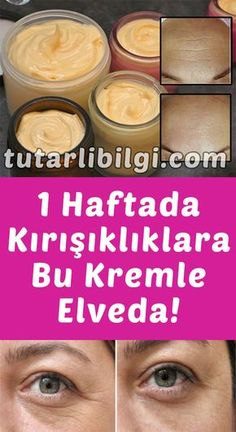 If you are one of the women who are afraid of wrinkles, then it's time to try your homemade wrinkle cream. This amazing anti-wrinkle cream is made from all natural products, contains no chemicals and Natural Toner, Natural Face, Natural Skin Care, Anti Aging, Skin Toner, Facial Toner, Skin Mask, Homemade Skin Care, Face Care