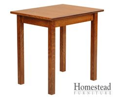 Parkston End Table The focus is on the craftsmanship with the Parkston End Table, making it a perfect fit for the craftsman mission style.  Quarter sawn oak is an obvious choice for this chest of drawers, but additional woods and finishes are available to suit your tastes. Pair with other Mission pieces to complete your craftsman mission room design.  http://homesteadfurnitureonline.com/occasionals_parkston-end-table.html