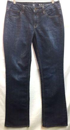 New York & Company Women's Curvy Bootcut Blue Jeans 8 32 x 32 #NewYorkCompany #CurvyBootCut