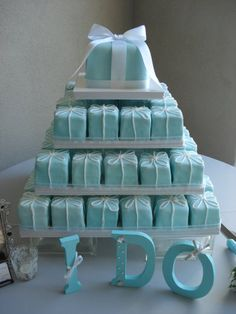 Love this idea for bridal shower treats too