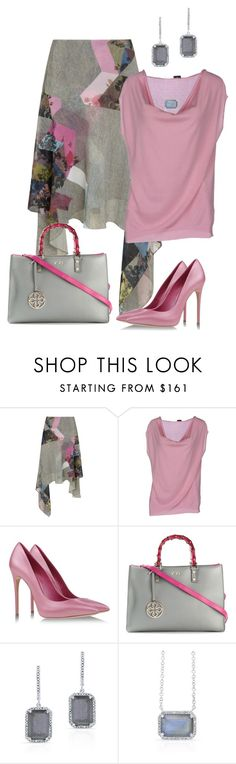 Sin título #1319 by marisol-menahem on Polyvore featuring moda, Snobby Sheep, Preen, Casadei, V°73, women's clothing, women's fashion, women, female and woman
