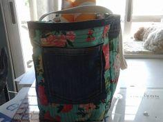 trabajo mio canasta de picnic con pantalon reciclado