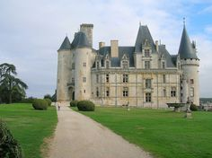 Chateau de la Rochefoucauld in Charente, France