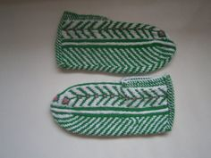 Turkish slippers warm cozy colorful women's socks by JezebelAdrian