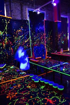 Black Light Party! by SweetLabs, via Flickr