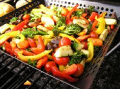 Grilled Gourmet Vegetable Medley - #LawhornIt today!