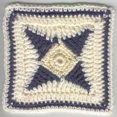 4-Point Crochet Star Pattern | AllFreeCrochetAfghanPatterns.com