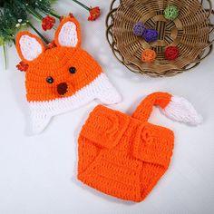Lindo bebé recién nacido de disfraz de chica traje tejido de lana ...